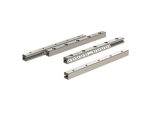 RNG linear guideway set with anti-cage creep technology