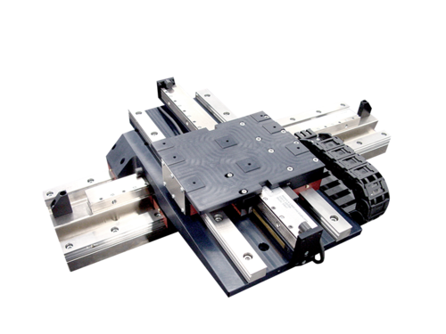 XY- linear motor stages