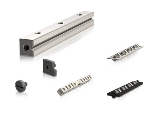Linear bearing components
